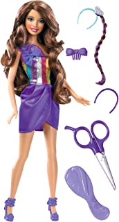 Barbie Hairtastic Cut and Style Brunette Doll