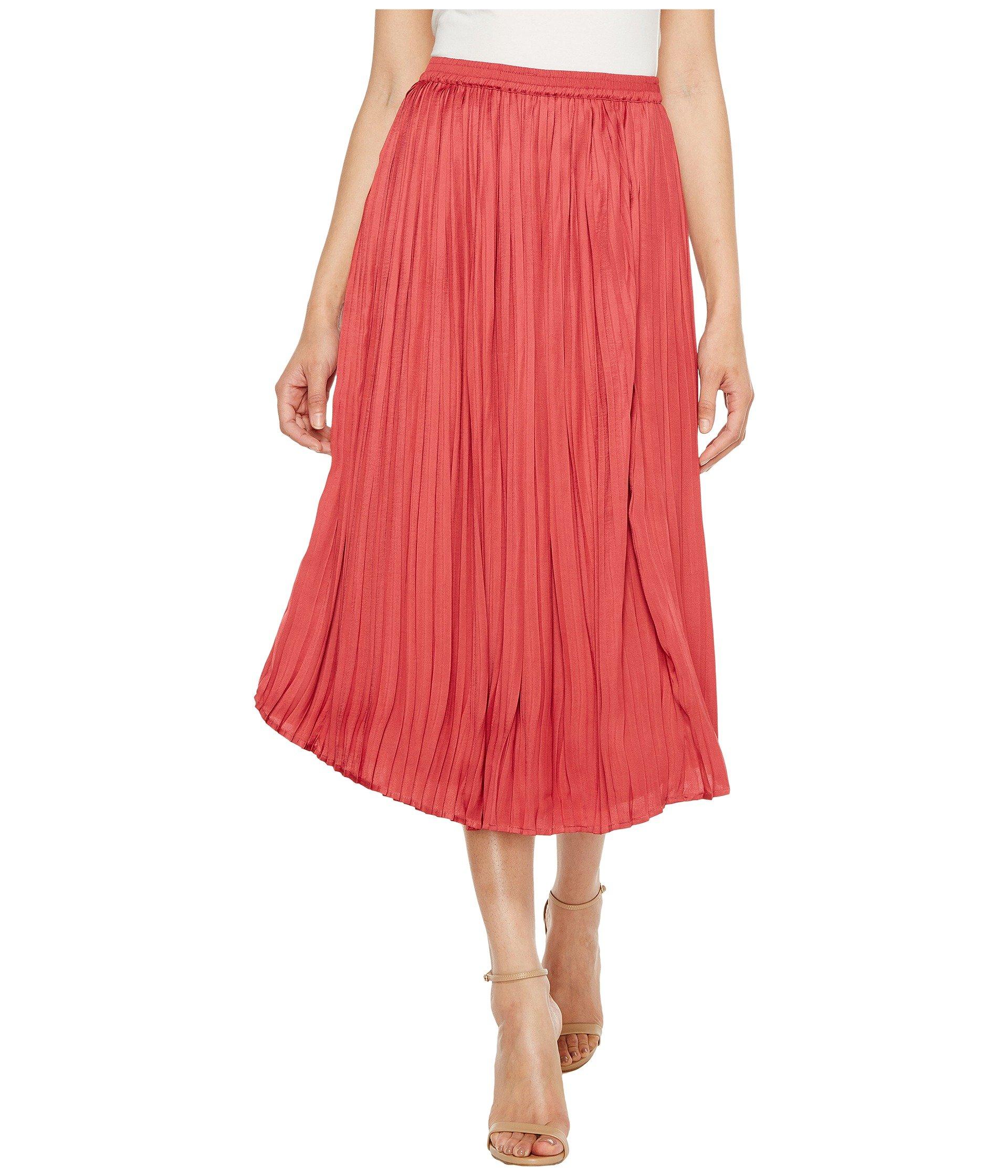 Falda para Mujer Vince Camuto Pleated Rumple Skirt  + Vince Camuto en VeoyCompro.net
