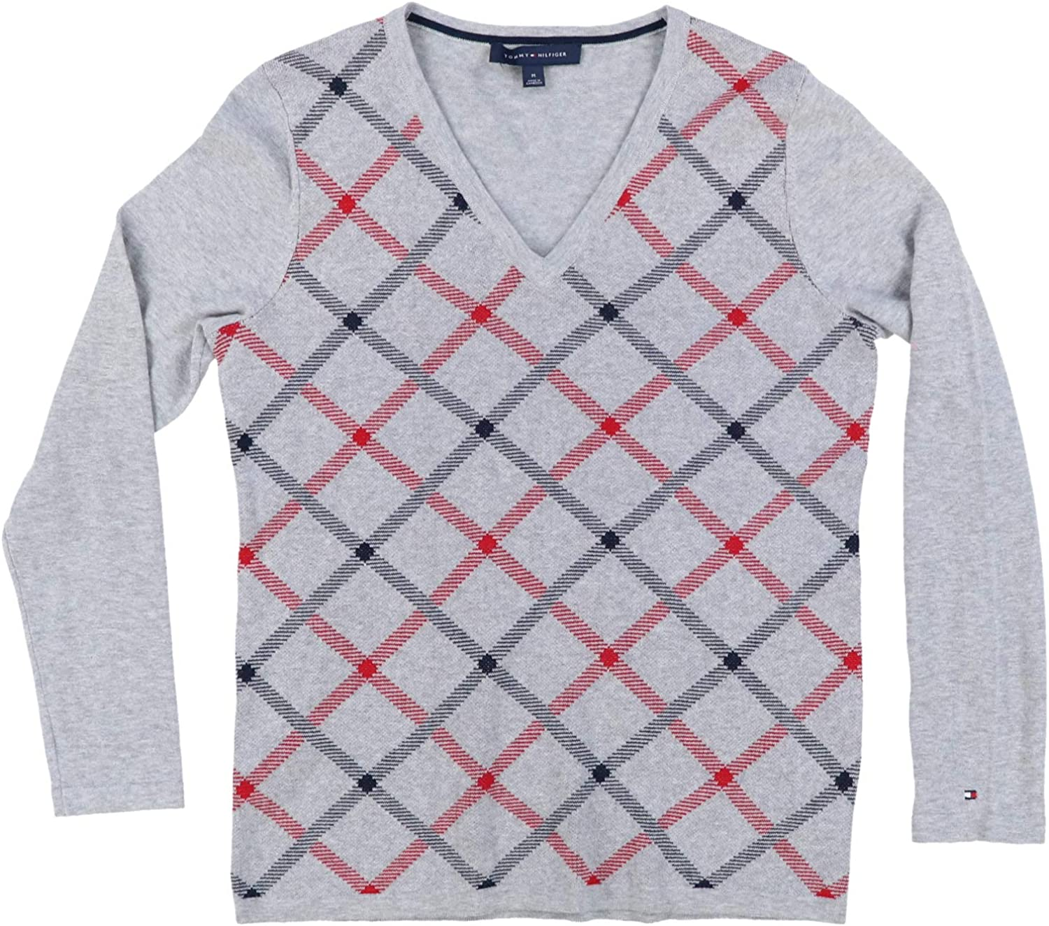 Tommy Hilfiger Womens Knit Pullover Sweater