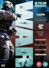 War Collection (Platoon, The Thin Red Line, Behind Enemy Lines, Courage Under Fire, Rescue Dawn, Enemy At The Gates, Tigerland, Windtalkers) [DVD] by Charlie Sheen