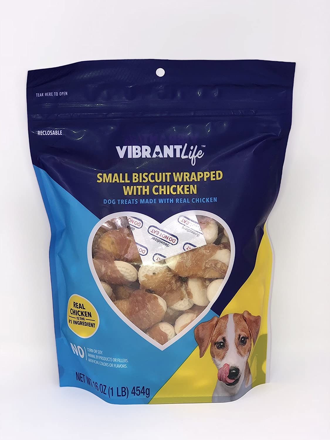 Vibrant Super popular specialty A surprise price is realized store Life Small Biscuit Wrapped with Treats Dog o 16 Chicken