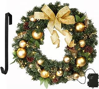 Best plain pine wreath Reviews