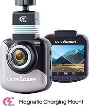 UltraDash C1 Dash Cam Magnetic Charging Mount, with Sony Exmor Image Sensor, Full HD 1080P, 140 Degree Wide Angle, G-sensor, 2 Inch LCD, Car Camera DVR Dashboard Digital Driving Video Recorder