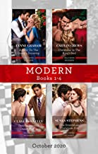 Modern Box Set 1-4 Oct 2020/A Baby on the Greek's Doorstep/Christmas in the King's Bed/Their Impossible Desert Match/One S...