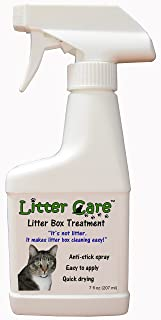 Litter Care - A Non-Stick Spray Coating for The Litter Box or pet Enclosure