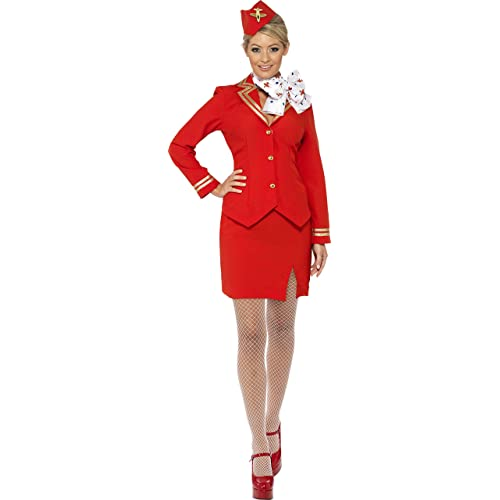 418a3c8ddef Smiffys Trolley Dolly Costume