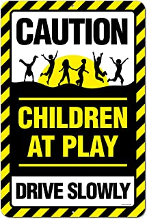 2cd56e9fc59da Amazon.com: kids at play safety signs