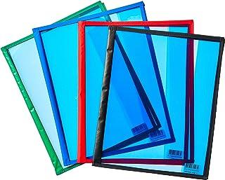 Goodie 20, Capa para Caderno Acetato, Multicolor, Pacote de 25