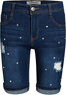 WallFlower Girls Bermuda Soft Stretch Denim Shorts