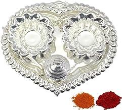 GS10 Indian Traditional Decorative Pooja thali Beautiful Lakshmi Festival Ethnic Gift for her//Kankavati//Diwali//Indian Handicraft//Home//Temple//Office//Wedding Gift//Bulk Gift