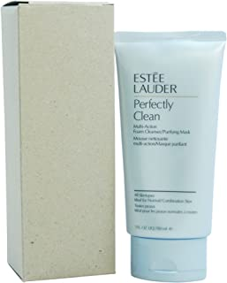 Perfectly Clean Multi-Action Foam Cleanser/Purifying Mask - All Skin Types by Estee Lauder for Unise