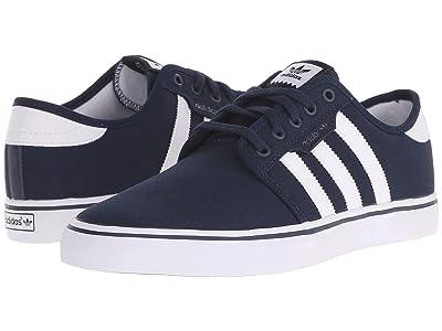 adidas Skateboarding Seeley (Collegiate Navy/White/Black) Men
