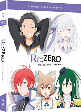 Re:ZERO Starting Life In Another World Season 1 Part 2 Blu-Ray/DVD(Re:ゼロから始める異世界生活 パート2 13-最終25話)