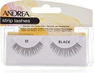 Andrea Strip Lashes - 52 Black, Pack of 1