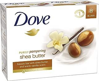 Dove Beauty Bar, Shea Butter, 4 oz, 8 Bar