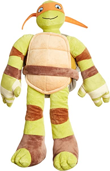 Jay Franco Teenage Mutant Ninja Turtles Plush Stuffed Michelangelo Pillow Buddy Kids Super Soft Polyester Microfiber 24 Inch Official Nickelodeon Product C Michaelangelo