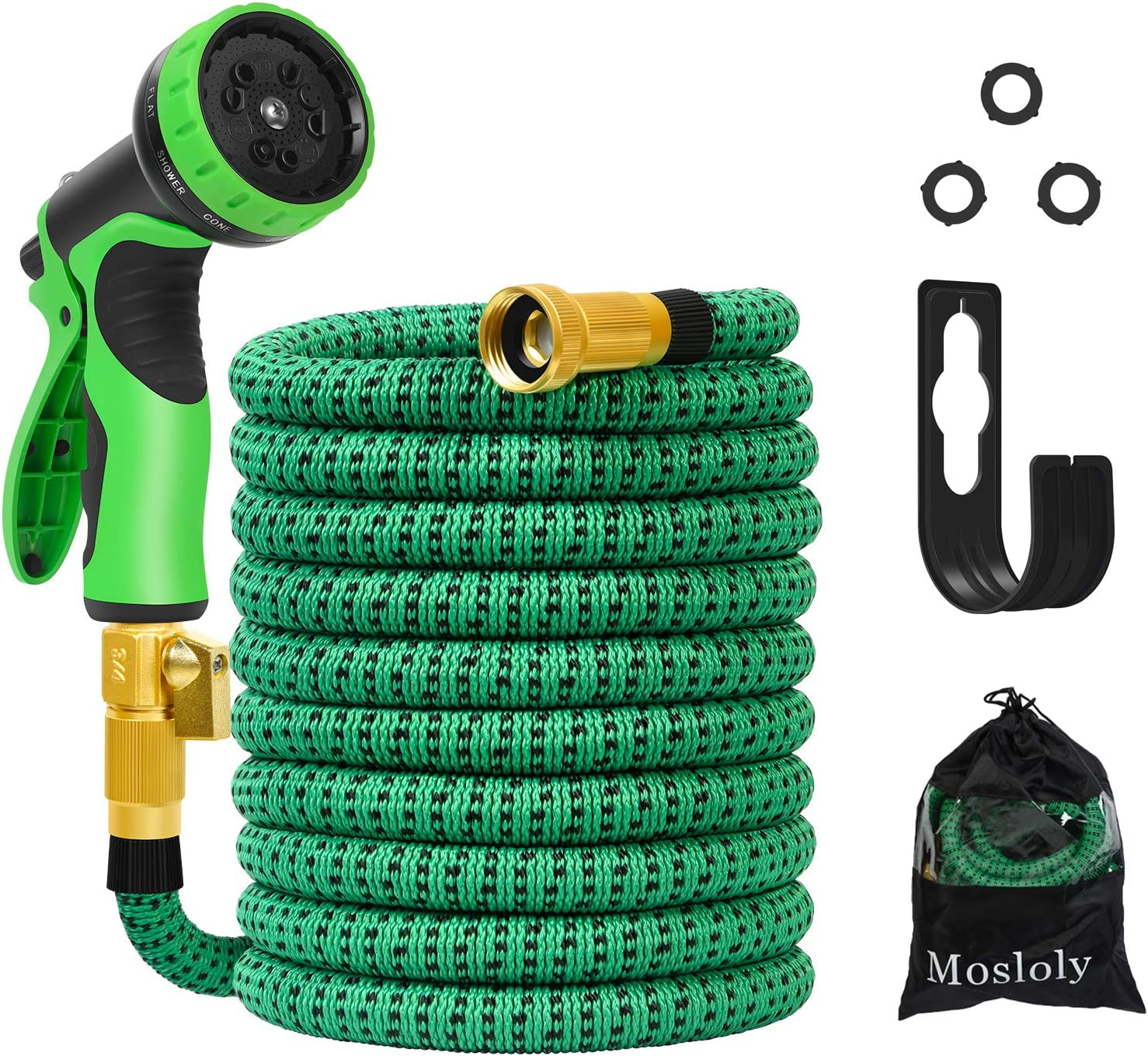 Super Special Campaign sale 25ft Expandable Garden Hose Water Green Function No with 10