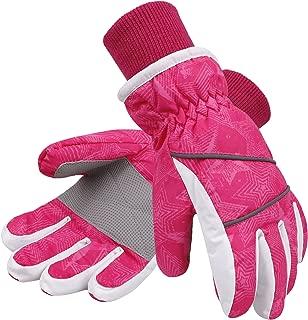Lullaby 儿童新雪丽衬里冬季儿童防风防水滑雪手套