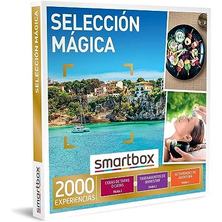 Smartbox - Caja Regalo Selección mágica - Idea de Regalo - 1 Actividad de gastronomía, Bienestar o Aventura para 1 o 2 Personas