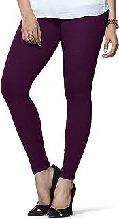 LUX LYRA Women's Cotton Ankle Length Leggings
