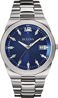 Bulova Men's 96B220 Classic Analog Display Japanese Quartz White Watch