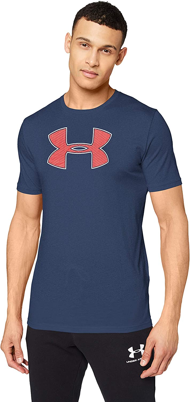Under Armour Big Logo Ss - Camiseta ligera de manga corta para hombre