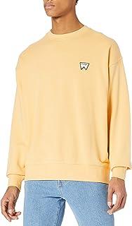 Wrangler Men's Badge Crew Sweatshirt