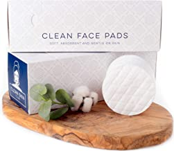 Clean Skin Club - XL Organic Cotton Rounds | World's Largest & Strongest Face Pad | Makeup Remover Rounds | 100CT | Clean ...