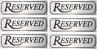 Best tabletop reserved signs Reviews