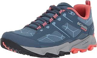 Columbia Women's Trans ALPS II Trail Running Shoe, Steel, melonade, 5.5 B US