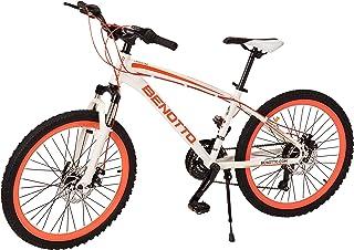 Benotto Bicicleta Landstar MTB Aluminio R24 21V Dama Sunrace Doble Disco