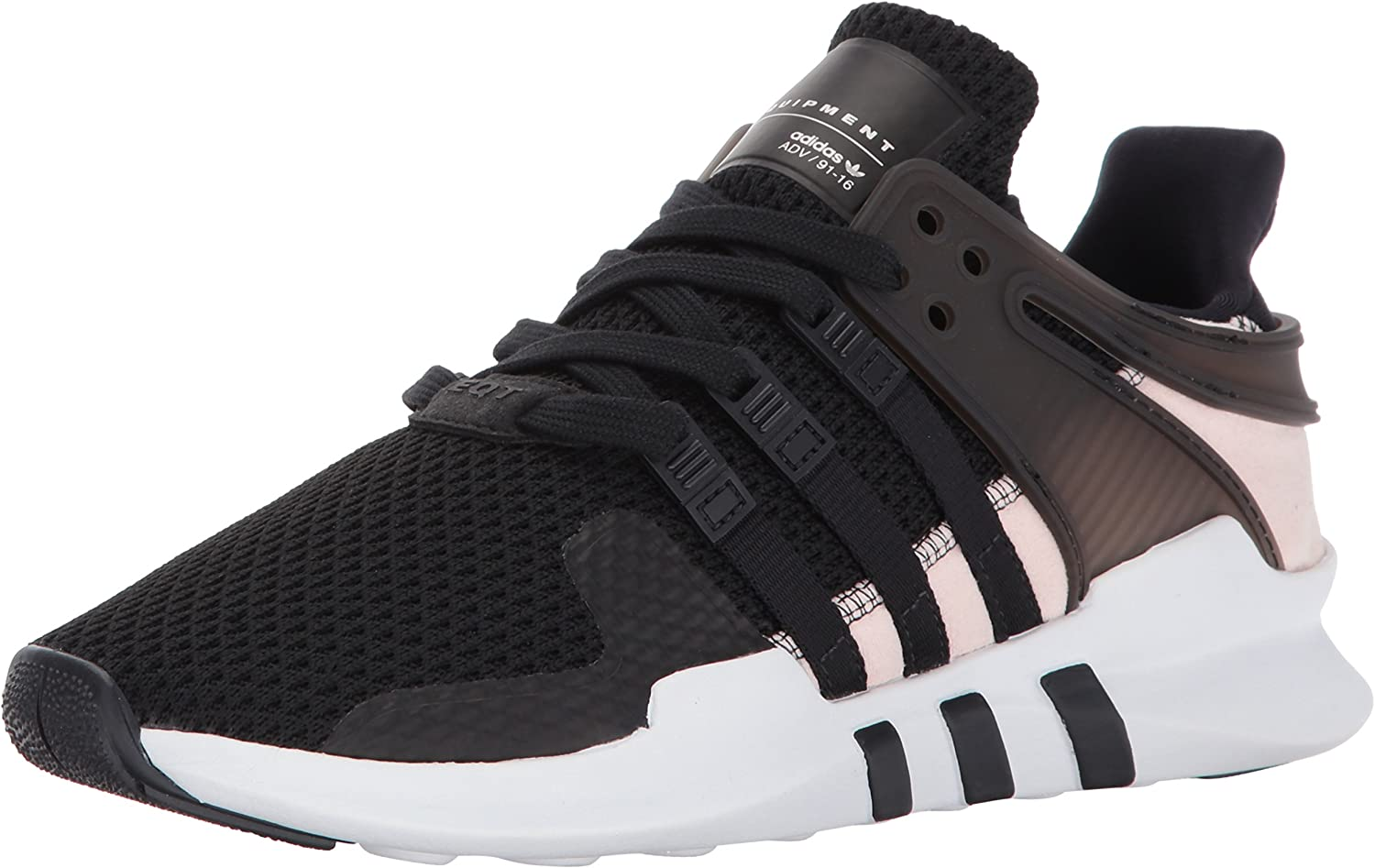 Adidas Originals Women's EQT Support ADV shoes, Core Black Core Black Footwear White, 8.5 M US