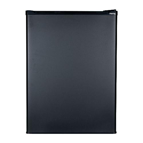 Haier HC27SF22RB 2.7 Cubic Feet Refrigerator/Freezer, Black