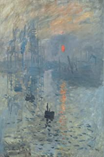 Monet:  Impression, Soleil Levant: Dot Grid Writing Journal Notebook 6 x 9, 130 pages