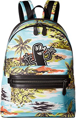 COACH Coach X Keith Haring Academy Backpack