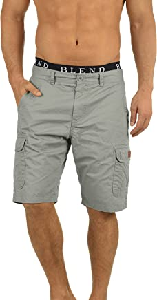 Blend Crixus Herren Cargo Shorts Bermuda Kurze Hose Aus 100% Baumwolle Regular Fit