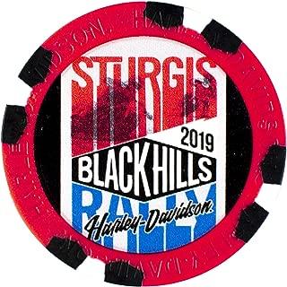 Harley-Davidson Black Hills Group 79th Sturgis Rally Poker Chip 5 Store Set