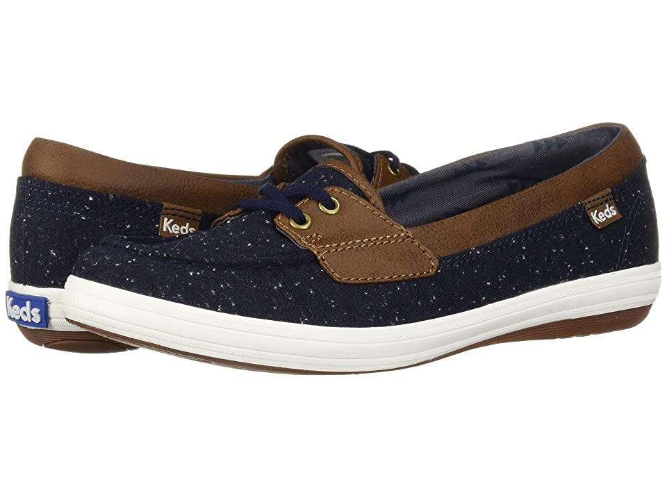Keds Glimmer Speckled Knit (Peacoat) Women