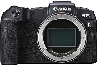 Canon EOS RP Systemkamera + Adapter EF-EOS R (26,2 MP, 7,5 cm (3 Zoll) Clear View LCD II Display, Digic 8, 4K Video, WLAN, Bluetooth, mit Vollformat-Sensor) schwarz