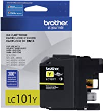Brother Printer LC101Y Yellow Ink Cartridge