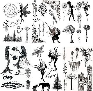 cailiya DIY Transparent Sceau Album Bricolage Embossing Card Album de Scrapbooking en Silicone Seals, Décoration Transpare...