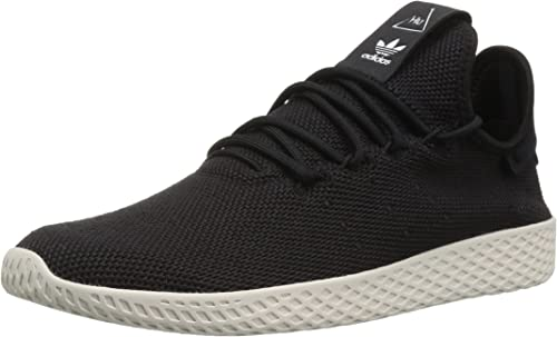 Adidas Originals Men's PW Tennis HU Running chaussures, noir Chalk blanc, 13 M US