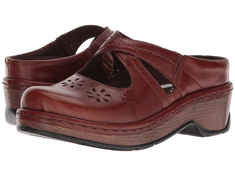 60s Shoes, Boots | 70s Shoes, Platforms, Boots Klogs Footwear Carolina Cognac Tintoretto Womens Clog Shoes $119.95 AT vintagedancer.com