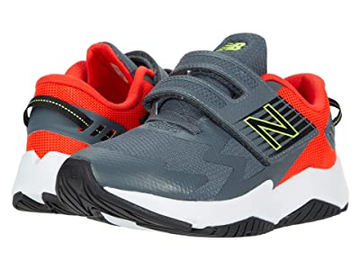 New Balance Kids Rave Run v1 (Little Kid) (Lead/Neo Flame) Boys Shoes