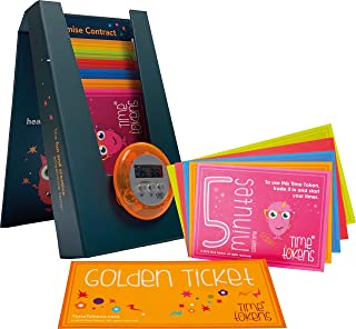 Time Tokens. Award Winning Fun and Simple Educational System to Limit Your Child's Screen Time (Magnetic Box, Teale)