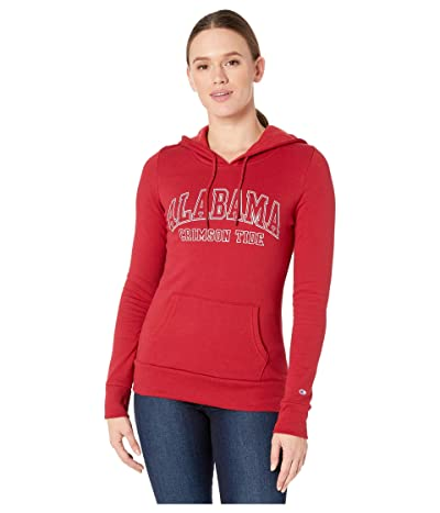 Champion College Alabama Crimson Tide Eco University Fleece Hoodie (Cardinal 3) Women