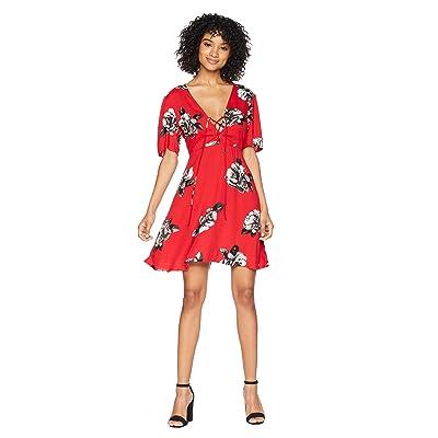 Volcom April March Dress (Rad Red) Women