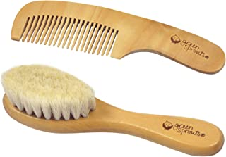 green sprouts Baby Brush & Comb-Natural-Adult use only, Brown, CT, 99 Grams