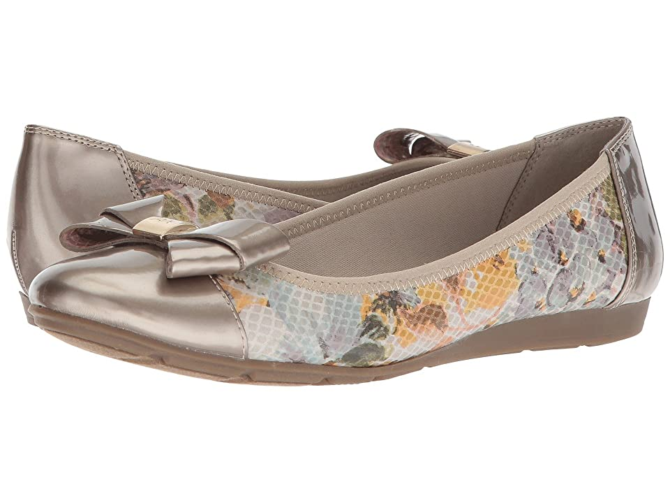 Anne Klein Alphia (Ivory/Light Green Multi Fabric) Women