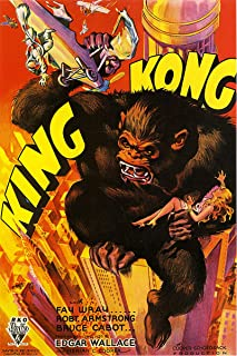 American Gift Services - King Kong Vintage Movie Poster 1-11x17
